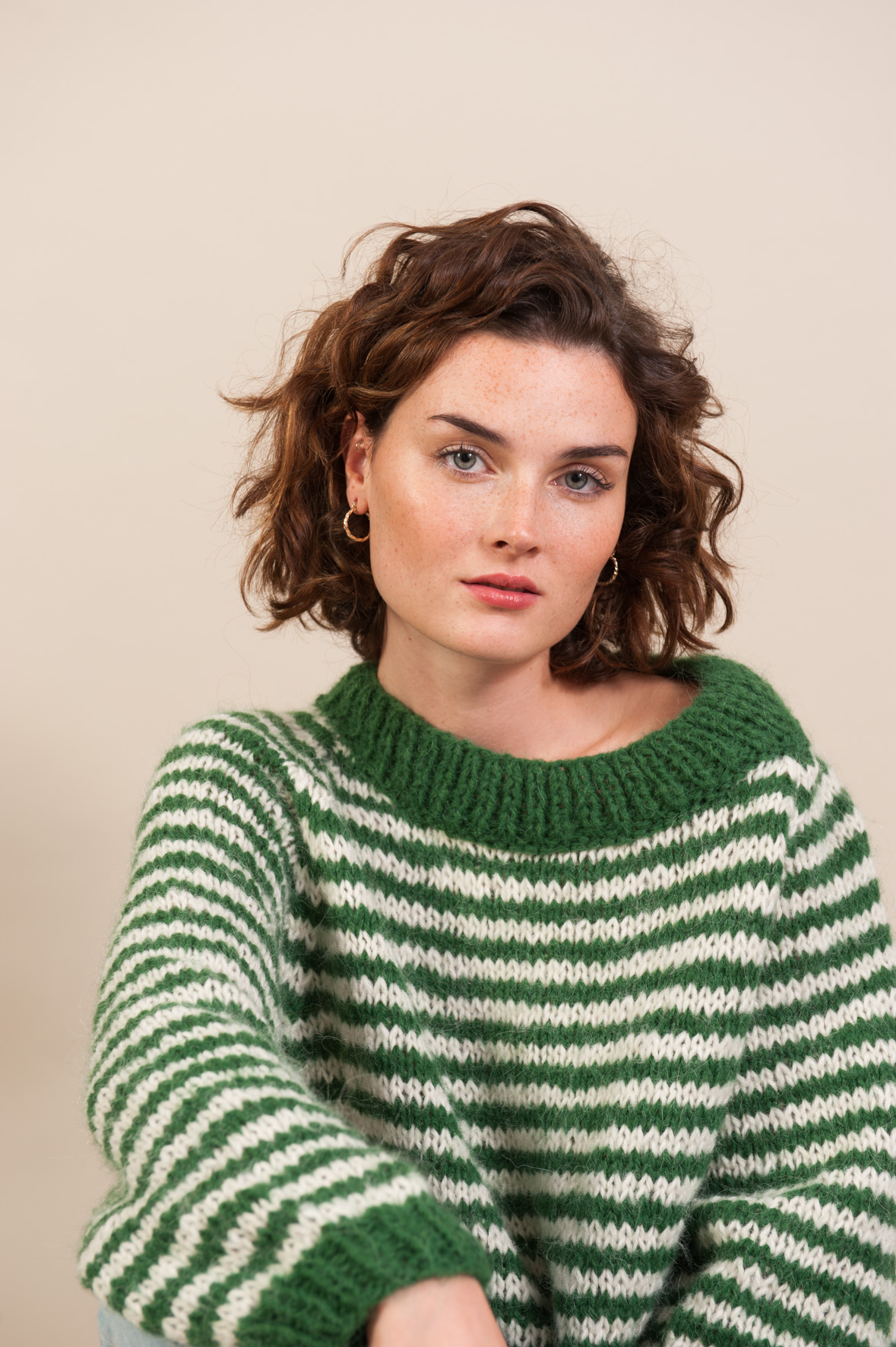 Pull STRIPES Green